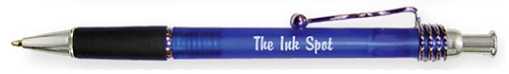 Promotional Rubber Grip Squiggle Pens