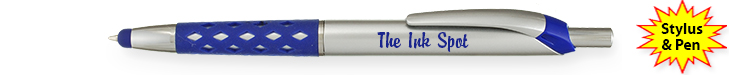 Promotional Aristocrat Rubber Grip and Stylus pen combination