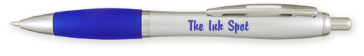 Promotional Colony Rubber Grip Pens