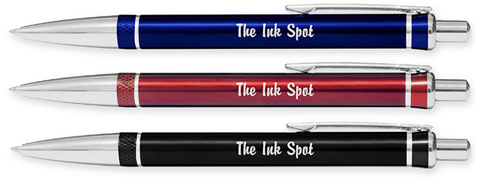 Regal Laser Engraved Metal Personalized Pens